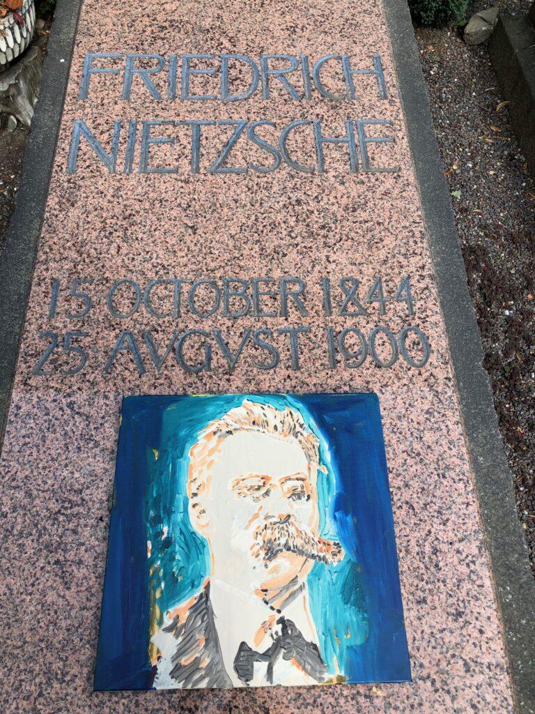 portret Nietzsche